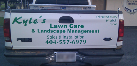Lawn Care, Custom Signs in Buford, GA