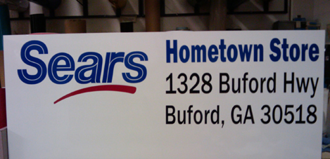 Sears, Custom Signs in Buford, GA